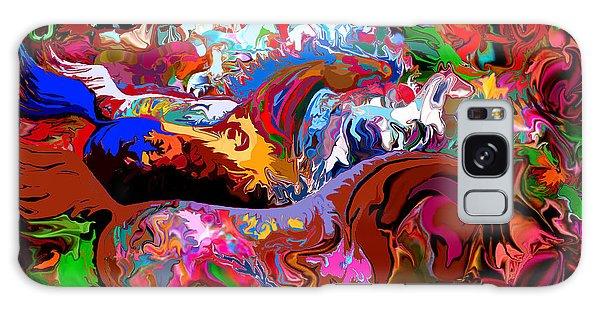 In Dreams Galaxy Case by Loxi Sibley