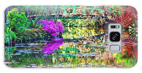 In Giverny Galaxy Case by Olivier Le Queinec
