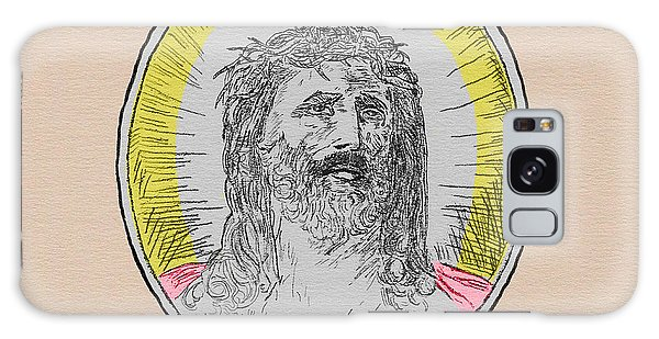 In Him We Trust Colorized Galaxy Case