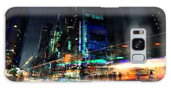 Colorful Galaxy Case - In Motion by Philip Straub