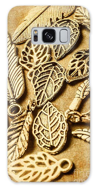 Metal Leaf Galaxy Case - In Ornamental Nature by Jorgo Photography - Wall Art Gallery