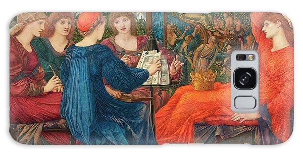 Venus Galaxy Case - In Praise Of Venus by Edward Burne-Jones