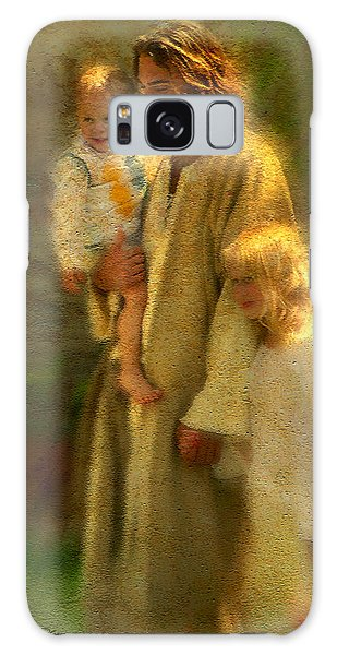 Galaxy Case featuring the painting In The Arms Of His Love by Greg Olsen