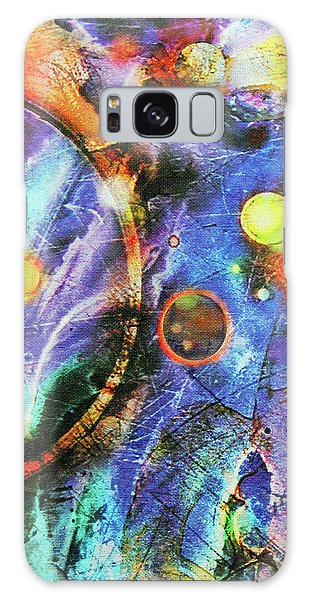 Galaxy Case featuring the painting In The Beginning by John Dyess