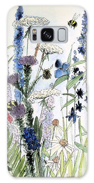 In The Garden Galaxy Case by Laurie Rohner