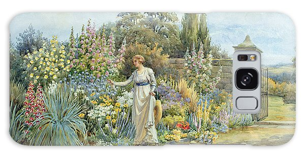 Wall Paper Galaxy Case - In The Garden by William Ashburner