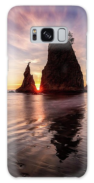 Galaxy Case featuring the photograph In The Heart Of The Sea Stacks by Pierre Leclerc Photography