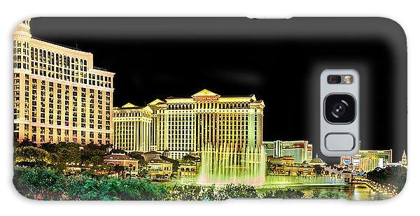 In The Heart Of Vegas Galaxy Case by Az Jackson