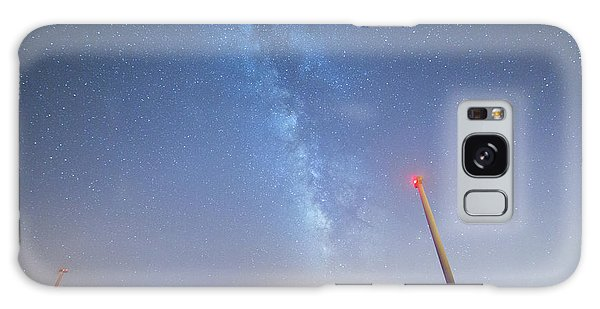 Galaxy Case featuring the photograph In The Middle by Bruno Rosa