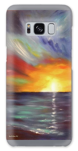 In The Moment - Vertical Sunset Galaxy Case