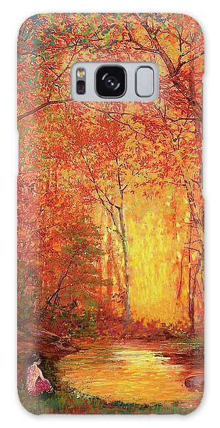 Foliage Galaxy Case - In The Presence Of Light Meditation by Jane Small