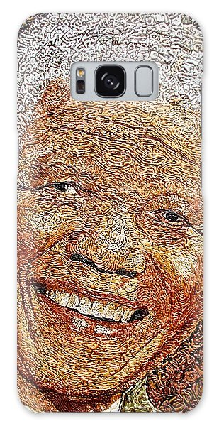 Nelson Mandela - In The Pyramid Of Our Minds Galaxy Case