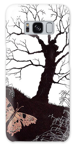 In The Winter Woods Galaxy Case by Stanza Widen
