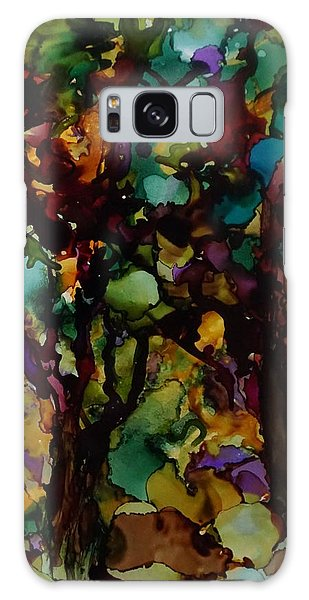 In The Woods Galaxy Case by Alika Kumar