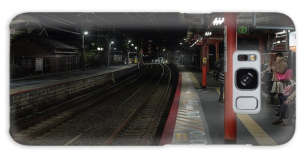 Inari Station, Kyoto Japan Galaxy Case