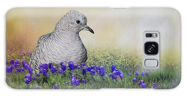 Inca Dove  Galaxy Case by Bonnie Barry
