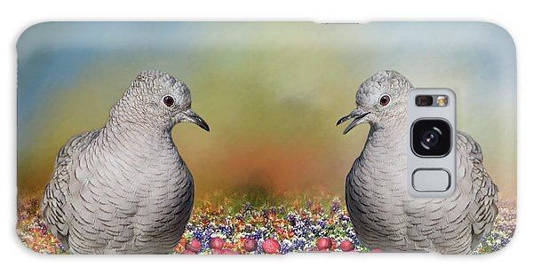 Inca Doves Galaxy Case by Bonnie Barry
