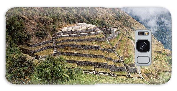 Inca Ruins And Terraces Galaxy Case