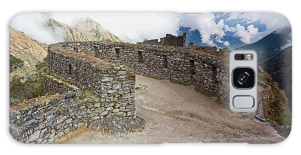Inca Ruins In Clouds Galaxy Case