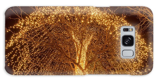 Incandescent Branches  Galaxy Case