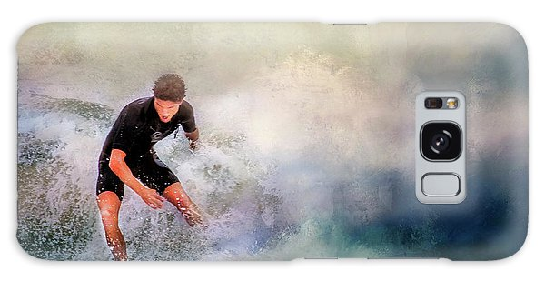 Galaxy Case featuring the photograph Incoming by Wallaroo Images