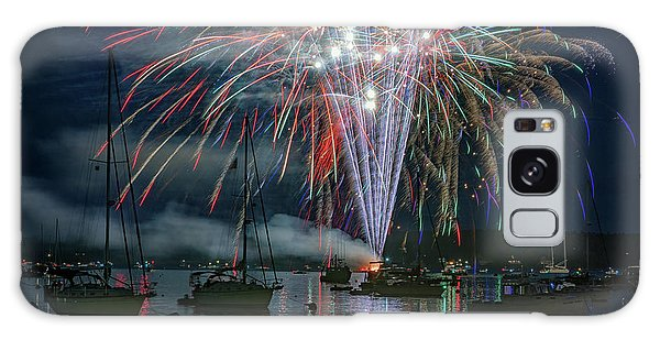 Galaxy Case featuring the photograph Independence Day In Maine by Rick Berk