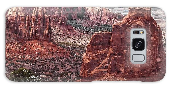 Independence Monument At Colorado National Monument Galaxy Case