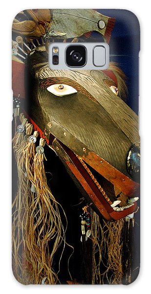 Indian Animal Mask Galaxy Case by LeeAnn McLaneGoetz McLaneGoetzStudioLLCcom