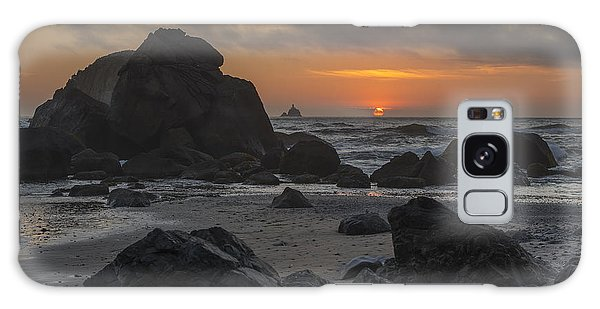 Indian Beach Sunset Galaxy Case