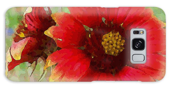 Indian Blanket Flowers Galaxy Case
