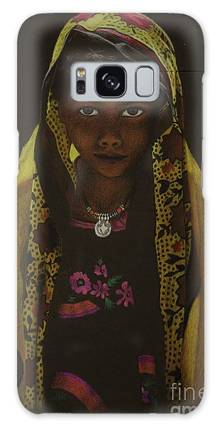 Indian Child Galaxy Case