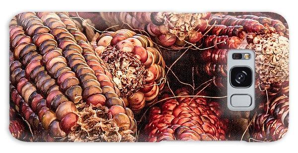 Indian Corn Galaxy Case - Indian Corn by Bill Gallagher