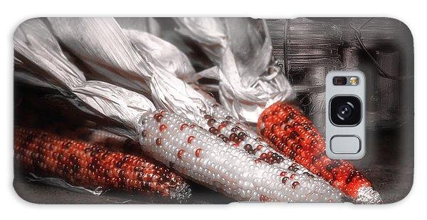 Indian Corn Galaxy Case - Indian Corn Still Life by Tom Mc Nemar