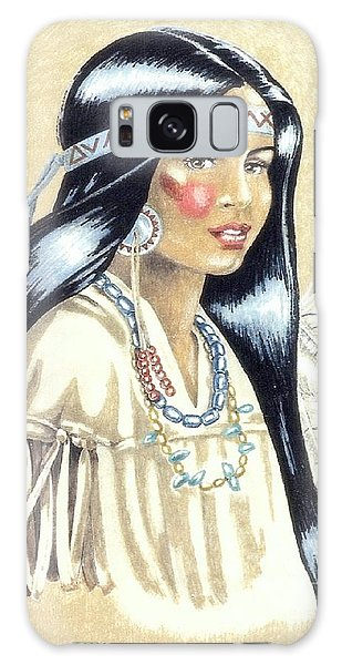 Indian Girl Galaxy Case