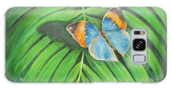 Indian Head Butterfly Galaxy Case by Oz Freedgood