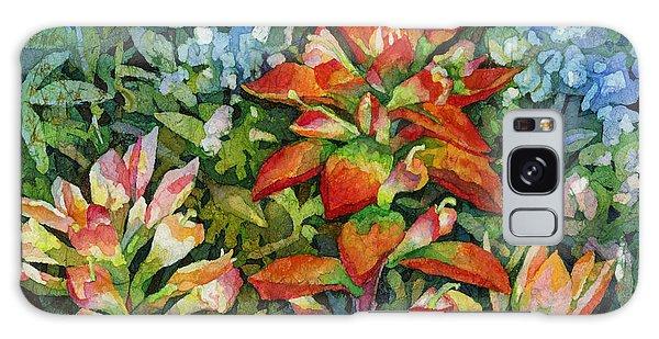 Bloom Galaxy Case - Indian Paintbrush by Hailey E Herrera