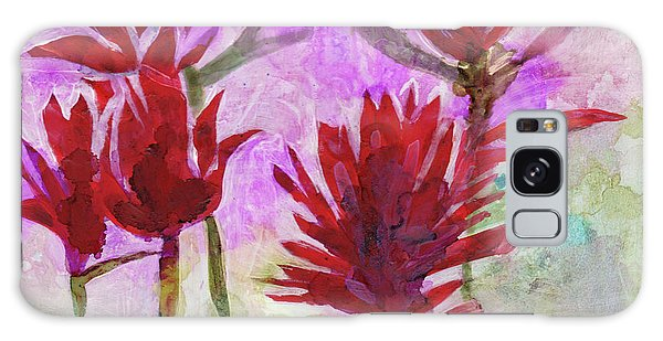 Indian Paintbrush Galaxy Case by Julie Maas