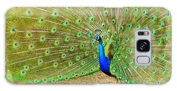 Indian Peacock Galaxy Case