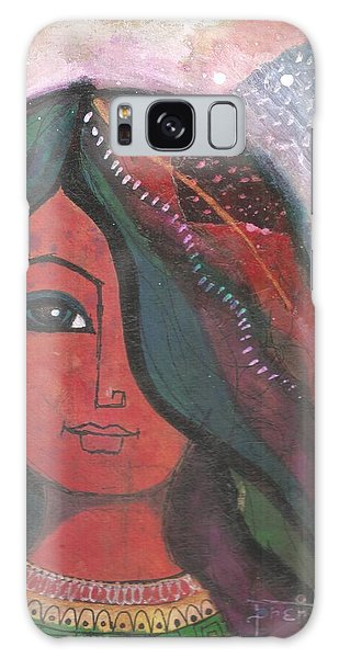 Indian Rajasthani Woman Galaxy Case