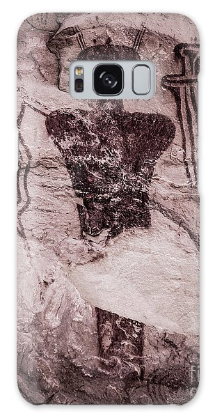 Indian Shaman Rock Art Galaxy Case by Gary Whitton