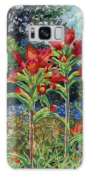 Bloom Galaxy Case - Indian Spring by Hailey E Herrera