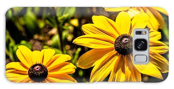 Indian Summer Gloriosa Daisy Galaxy Case