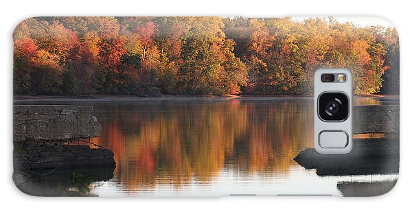 Galaxy Case featuring the photograph Indian Summer by Vadim Levin