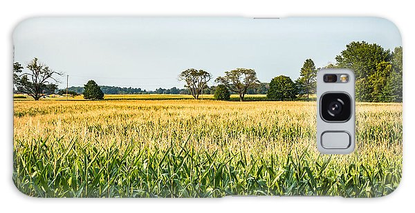Indiana Corn Field Galaxy Case