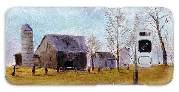 Indiana Farm Galaxy Case by Larry Hamilton