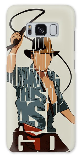 Vector Galaxy Case - Indiana Jones - Harrison Ford by Inspirowl Design