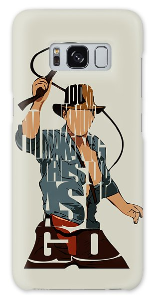 Movie Galaxy Case - Indiana Jones - Harrison Ford by Inspirowl Design
