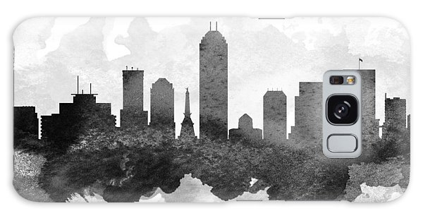 Indianapolis Galaxy Case - Indianapolis Cityscape 11 by Aged Pixel