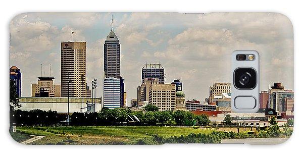 Indianapolis Skyline 25 Galaxy Case