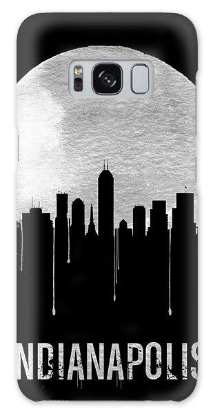 Indianapolis Galaxy Case - Indianapolis Skyline Black by Naxart Studio